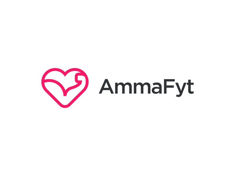 Logo for a fitness company minimalist fitness logo