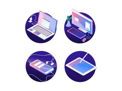 Gadgets Illustration