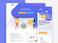 WPoven UI Landing Page