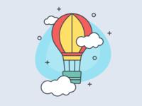 Air Balloon Illustration