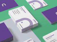 Neho Business Card Mockup