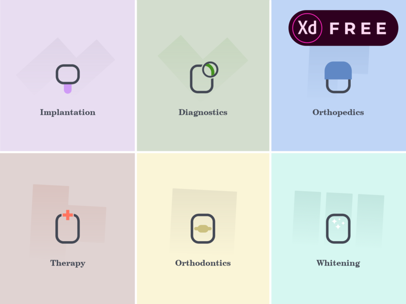 Free Dental Icon Pack from Otl. Giveaway! dental xd icon pack dentalcare medical icons medical care free giveaway dentistry stomatology