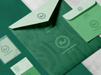 Branded Envelopes+Badge – German Hotel in Franconian Style