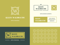German Hotel Logo – Viennese Style