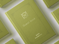 German Hotel Guest Book – Viennese Style