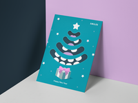 New Year Card for a Dentistry
