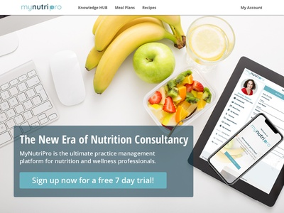 Website - header part header design nutrition uidesign ui landing  page design branding