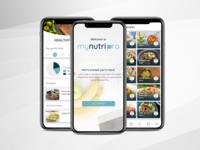 Healthy recipe app