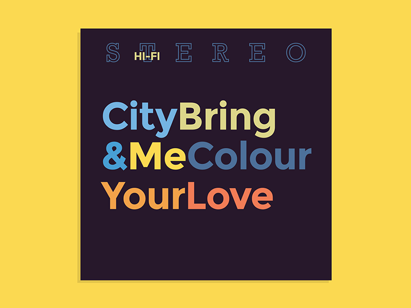 City colour bring me your love cover