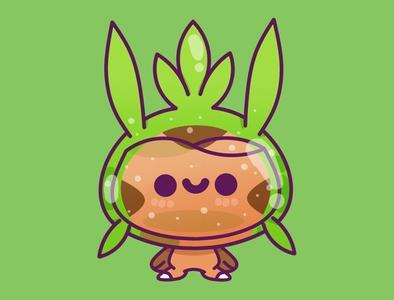 Cute pokemon happy pastel kid minimal cute illustration design graphic nintendo gaming kawaii