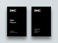 Incondite Business Cards