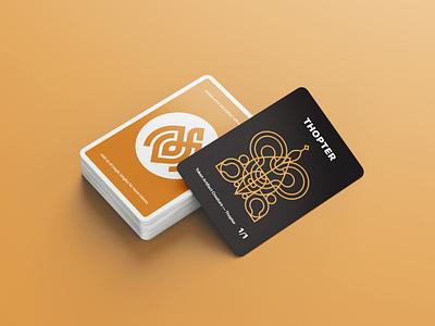Modern Minimal Magic: the Gathering Tokens playing cards magic: the gathering magic tokens cards illustration typography