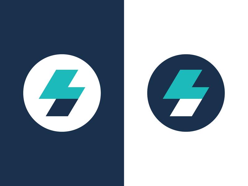 Lady Sweat Monogram Logo branding monogram custom type typography