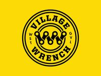 Village Wrench Primary Logo