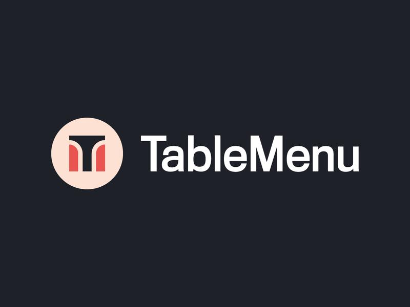 Sit down at the Table Menu monogram tm monogram tm branding