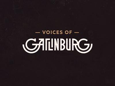 #VoicesofGBurg  voicesofgburg voicesofgatlinburg gatlinburg lettering custom type plathorn typography