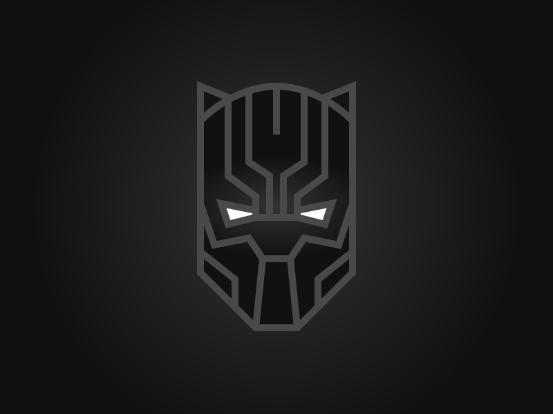 4 Days... infinity war tchalla black panther avengers illustration character design character yibambe typography