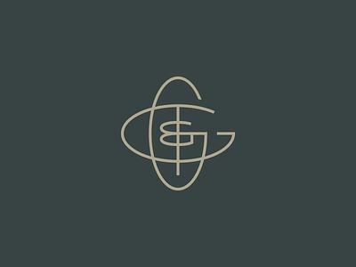 WIP GG&T ampersand thin line monogram typography