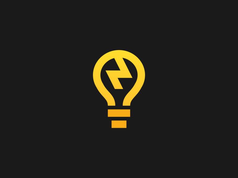 ¡Eureka! battlestar galactica bulbs bolts lightning thick lines icon illustration