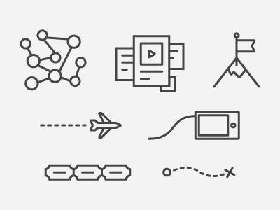 Icon Set icons icon illustration