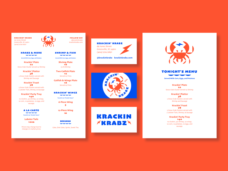 Before We Dropped the K/Z restaurant menu bar menu design brand identity typography