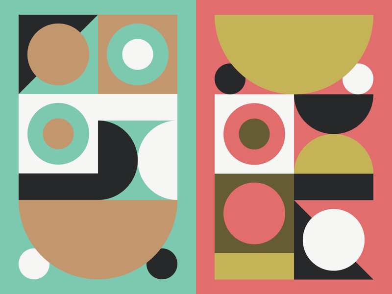 More Abstracts abstract grid shapes geometric illustration