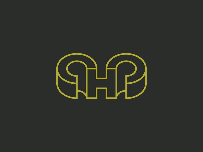Halifax High Cross Country brand identity h monogram h logo h monogram horns ram branding design branding typography
