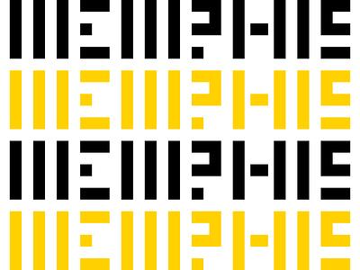 Memphis! lettering custom type grid typography