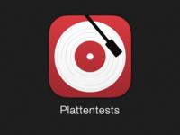 Plattentests App Icon iOS7