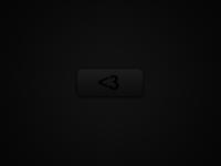 Black <3 Button