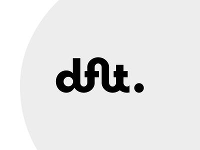 Logo for Default Design letter logotype webdesign agency tech letters symbol wordmark monogram design type branding mark logo