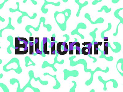 Billionari tripping out streetwear clothing type wordmark street psychedelic trippy camo illustration design mark branding logo