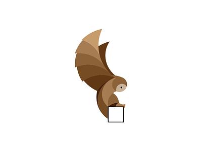 Owl Logo owl animal flat design mark symbol logo identity branding