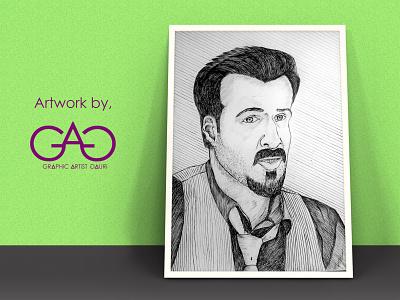 Emraan Hasmi Sketch simple art sketchbook facesketch pencilsketch portrait shading pensketch sketch