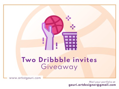 Dribbble invite Giveaway dribbble best shot graphicdesigner freelancer logo adobe illustrator best shot invite giveaway invites giveaway dribbble invite dribbble