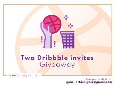 Dribbble invite Giveaway dribbble best shot graphicdesigner freelancer logo adobe illustrator best shot invite giveaway invites giveaway dribbble invite dribbble
