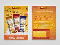 Ondago Complete Breakfast Bar -  Leaflet Design