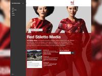 Red Stiletto Media Website