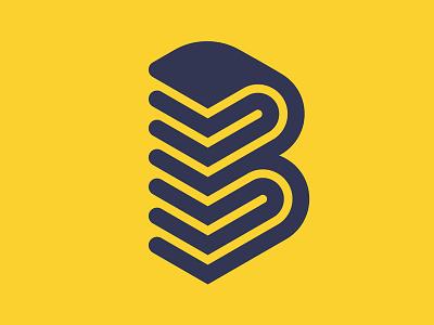 B Logo branding presonal logo b letter logo