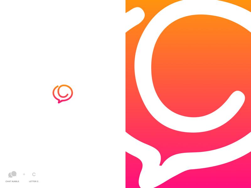 Logo Exploration - Youth Social Network concept logo design logotype bubble chat vector branding logo design