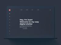 Personal Website - Dark Mode