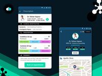 Dbotica UX / UI  Design | Healthcare App