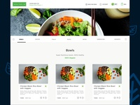 Menu Page UI - Healthie Lite