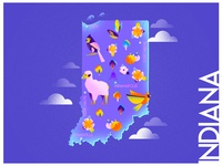 A state a day. #39 - Indiana
