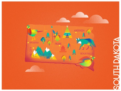 A state a day. #25 - South Dakota