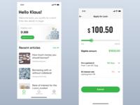 Loan disbursal app
