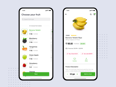 Fruit buying App
