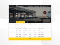 Landing Page Airport