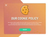 Cookie Policy Pop-Up