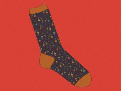Sad Socks™ Wilted Flowers